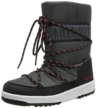 82049cdc8f50 Moon Boot Moon-boot Jr Boy Sport Wp Snow Boots