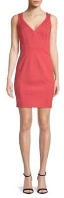 Zac Posen V-Neck Sheath Dress