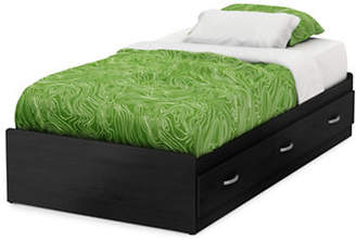 SOUTH SHORE Lazer Twin Mates Bed with 3 Drawers
