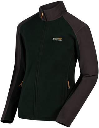 Regatta Great Outdoors Mens Hedman II Two Tone Full Zip Fleece Jacket (L)