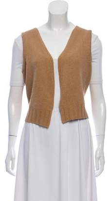 Les Copains Sleeveless Wool Vest
