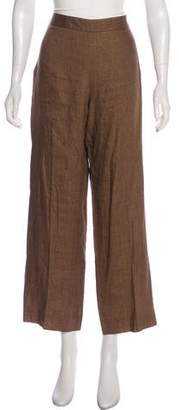 Loro Piana High-Rise Flared Pants