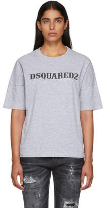 DSQUARED2 Grey Logo T-Shirt