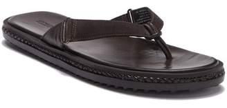 Michael Bastian Leather Flip-Flop Sandal
