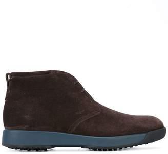 Salvatore Ferragamo chukka boots