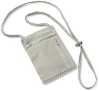 L.L. Bean L.L.Bean RFID-Blocking Travel Neck Wallet