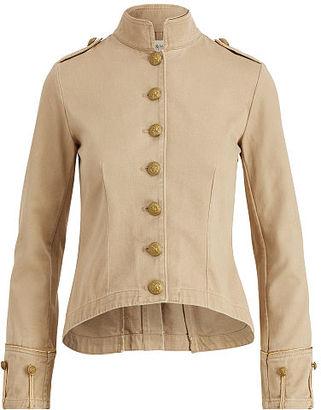 Ralph Lauren Denim & Supply Cotton Twill Officer's Jacket $165 thestylecure.com