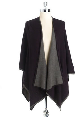 Lord & Taylor Reversible Shawl $78 thestylecure.com