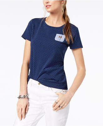 Tommy Hilfiger Textured Pocket T-Shirt, Created for Macy's