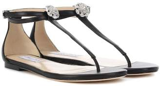 4b1dc2178375b9 Jimmy Choo Flat Sandals - ShopStyle UK
