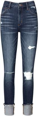 Sam Edelman Mary Jane High Rise Straight Ankle Jean