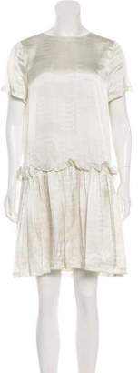 Opening Ceremony Ruffle-Accented Mini Dress