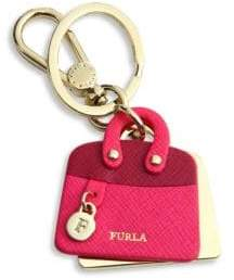 Furla Venus Leather Bag Keychain