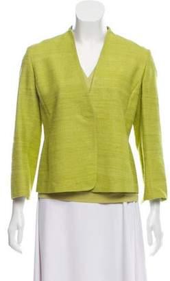 Akris Punto Textured Silk Two-Piece Blazer Set