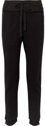 Ann Demeulemeester Cotton-jersey Slim-leg Pants - Black