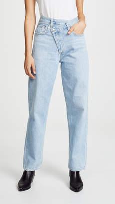A Gold E AGOLDE Crisscross Jeans
