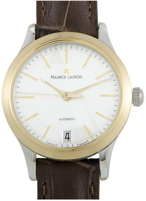 Maurice Lacroix Women's Leather Watch