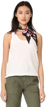 Madewell Charlie Whisper Scoop Tank $17 thestylecure.com