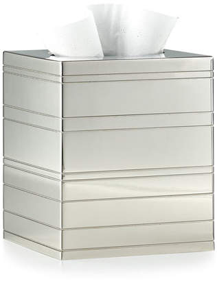 Labrazel Rings Polished Nickel Tissue Box Cover