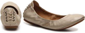 Lucky Brand Echo Ballet Flat -Brown Nubuck Leather - Women's