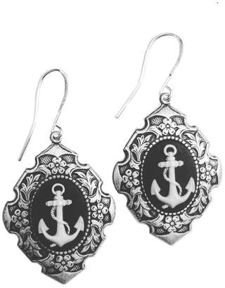 Couture By Lolita Anchor Cameo Renaissance Earrings