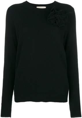 Gucci corsage detail jumper