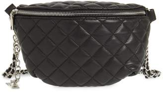 Steve Madden Quilted Faux Leather Fanny Pack