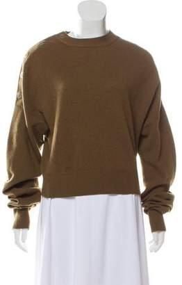 Celine Cashmere & Wool Crew Neck Sweater
