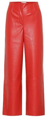 Nanushka Africa faux leather pants
