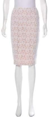 OMO Norma Kamali Mini Pencil Skirt