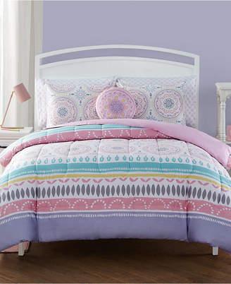 Lula Sanders 7 Pc Full Comforter Set Bedding