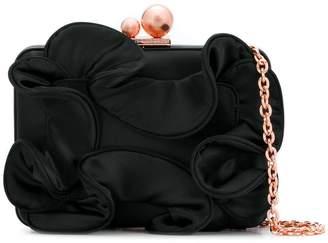 Sophia Webster ruffle clutch bag