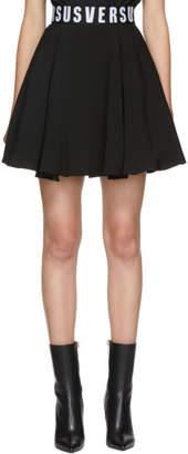 Versus Black Puffy Miniskirt