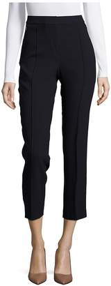 Elie Tahari Women's Front Seamed Cropped Ankle Pants