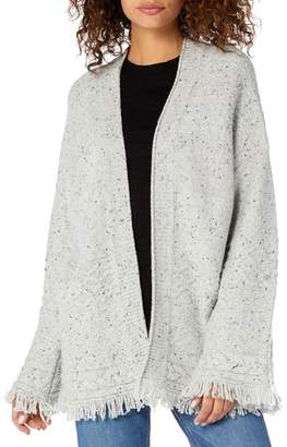 Michael Stars Confetti Cable Bell Sleeve Cardigan