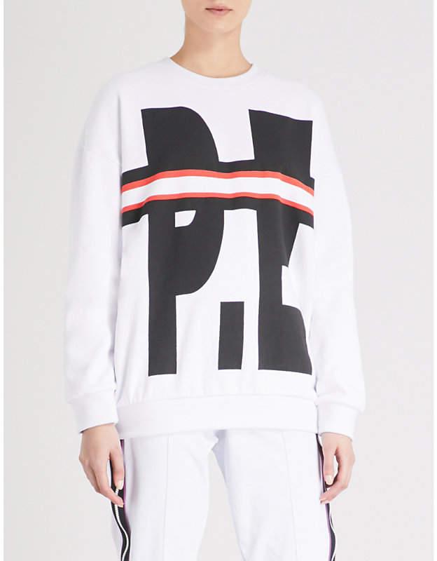 Strikes and Spares logo-print cotton-jersey sweatshirt