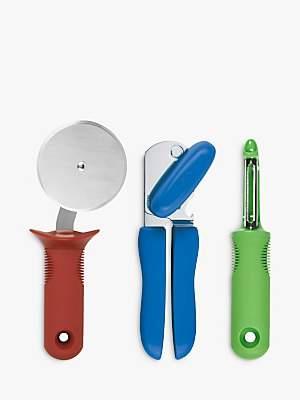 Good Grips OXO Can Opener, Pizza Wheel & Peeler, Set of 3