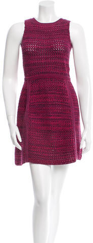 prada Prada Knit Sheath Dress