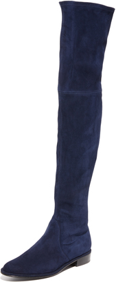 Stuart Weitzman Thigh Scraper Over the Knee Boots $845 thestylecure.com
