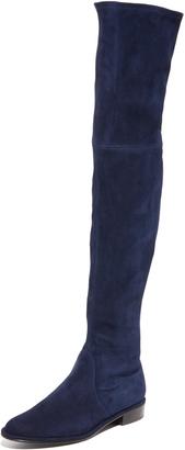 Stuart Weitzman Thigh Scraper Over the Knee Boots $845 thestylecure.com
