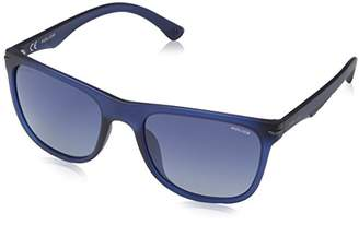 Police Men's Spl359 Aviator Sunglasses