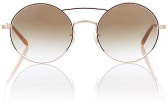 Nickol round sunglasses