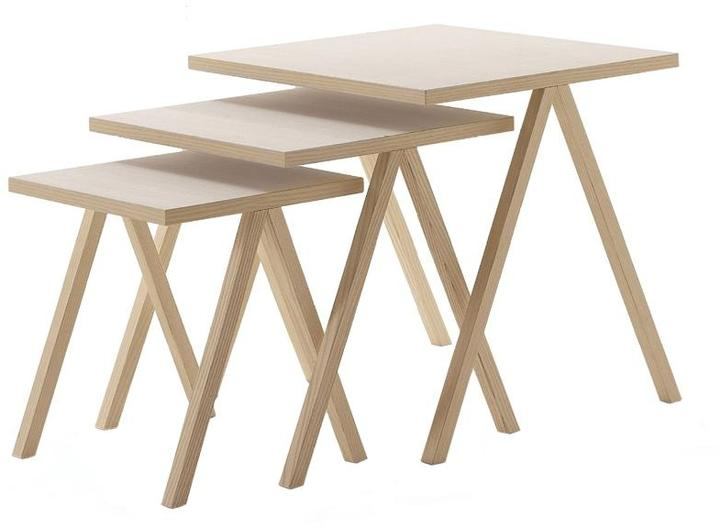 Cappellini - hipp nesting table by cappellini