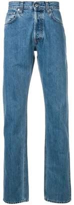 Helmut Lang straight jeans