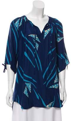 Yumi Kim Printed Tunic Top