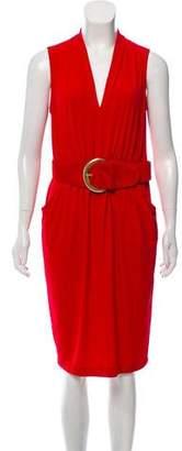 Donna Karan Sleeveless Knee-Length Dress