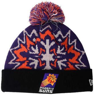 sale retailer 642ee ba1f0 ... New Era Phoenix Suns Glowflake Knit Hat