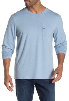 Tailor Vintage Stretch Slub Jersey Long Sleeve T-Shirt