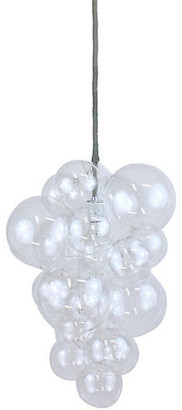 The Light Factory Waterfall Bubble Chandelier - Clear/Gray