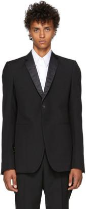 Rick Owens Black Soft Tuxedo Blazer